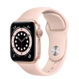 Apple Watch Series 6 GPS 40mm Gold Aluminum Case with Sport Band - Pink Sand