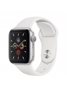 Apple Watch Series 6 GPS 44mm Silver Aluminium Case with Sport Band - White