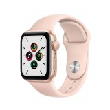 Apple Watch SE GPS 40mm Gold Aluminum Case with Sport Band - Pink Sand