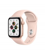 Apple Watch SE GPS 44mm Gold Aluminum Case with Sport Band - Pink Sand