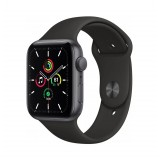 Apple Watch SE GPS 40mm Grey Aluminum Case with Sport Band - Black