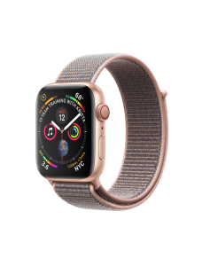 Apple Watch Series 4 GPS + Cellular 40mm Gold Aluminum Case with Sport Loop - Pink Sand