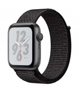 Apple Watch Series 4 Nike+ GPS + Cellular 40mm Space Grey Aluminium Case with Nike Sport Loop - Black