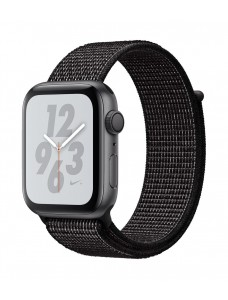Apple Watch Series 4 Nike+ GPS + Cellular 40mm Space Gray Aluminum Case with Black Nike Sport Loop