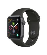 Apple Watch Series 4 GPS 44mm Space Gray Aluminum Case with Black Sport Band