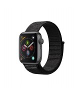 Apple Watch Series 4 GPS 44mm Space Grey Aluminium Case with Sport Loop - Black
