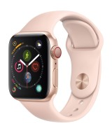 Apple Watch Series 4 GPS + Cellular 40mm Gold Aluminum Case with Sand Sport Band
