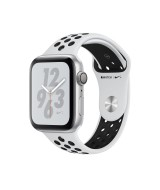 Apple Watch Series 4 Nike+ GPS 44mm Silver Aluminum Case with Pure Platinum/Black Nike Sport Band