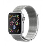 Apple Watch Series 4 GPS + Cellular 40mm Silver Aluminum Case with Sport Loop - Seashell