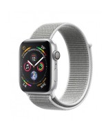 Apple Watch Series 4 GPS 40mm Silver Aluminum Case with Seashell Sport Loop