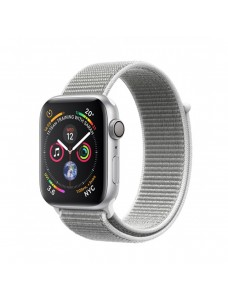 Apple Watch Series 4 GPS + Cellular 40mm Silver Aluminium Case with Sport Loop - Seashell