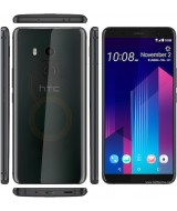 HTC U11 Plus Dual Sim 128GB Translucent Black