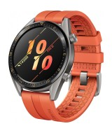 Huawei  GT Titanium Grey – Orange strap