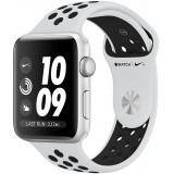 Apple Watch 3 Nike+ GPS 42mm Silver Aluminum Case with Pure Platinum/Black Nike Sport Band
